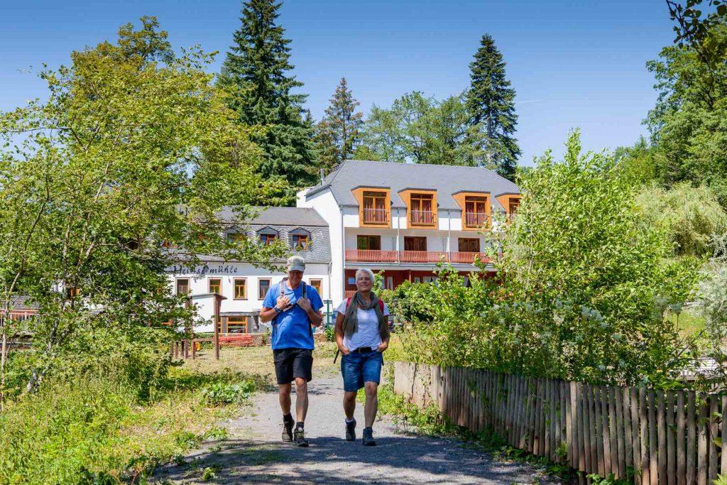 Hotel Restaurant Vulkaneifel Eifel Heidsmühle